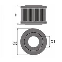 Sportovní filtr Green LANCIA KAPPA 2.4L TDS výkon 91kW (124hp) typ motoru 838 A7 000 rok výroby 94-